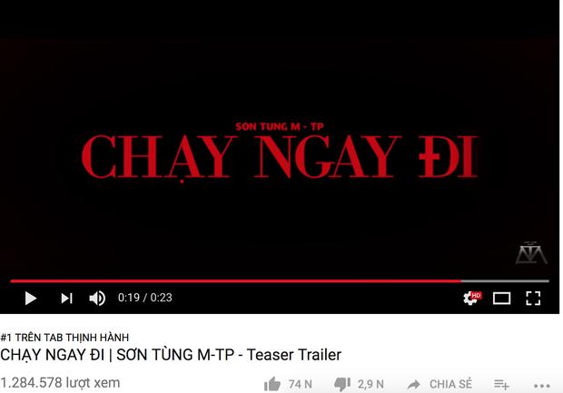 Teaser mới của Sơn Tùng chỉ lọp top 9 trending, thành tích kém xa loạt sản phẩm trước đó? - Ảnh 6.