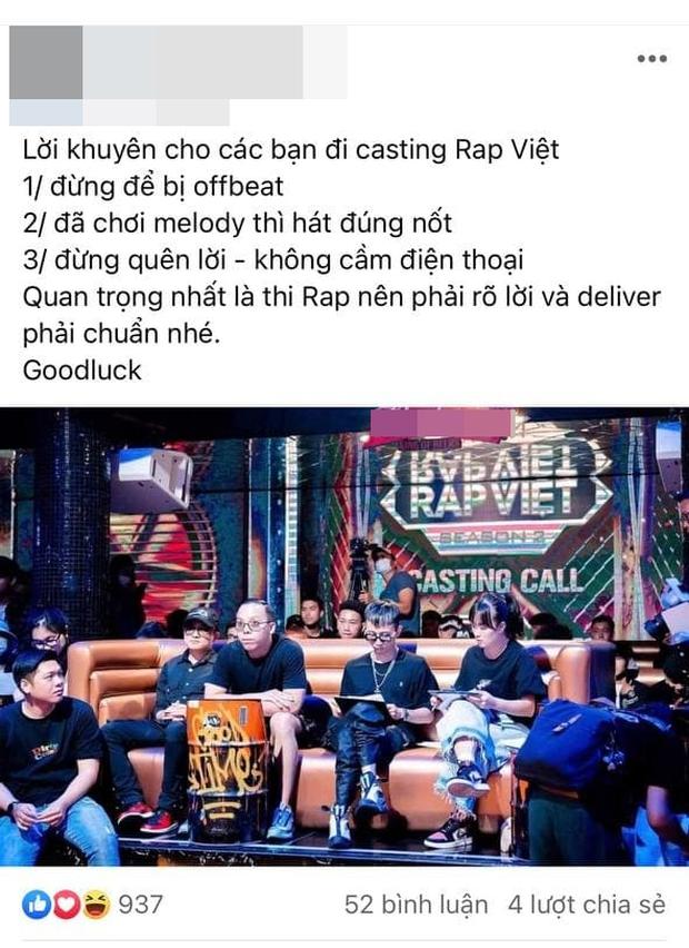 Có nam ca sĩ đang lên tại Vpop quyết tâm bỏ cả 1 năm ôn luyện để đi casting Rap Việt mùa 2? - Ảnh 1.