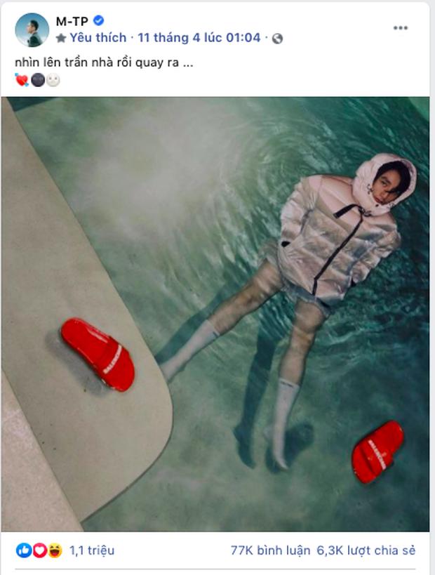 Sơn Tùng M-TP đăng 3 bức ảnh đạt tương tác khủng nhưng teaser audio sau 12 giờ chưa đạt nổi 1 triệu view - Ảnh 4.