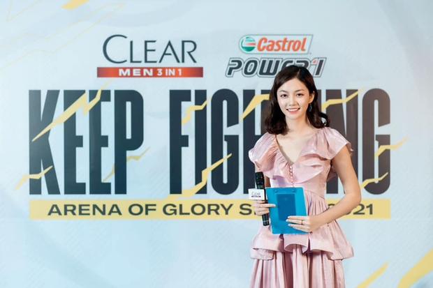 Trên tay MC Bảo Hằng, nhan sắc ngày càng thăng hạng, xứng đáng nàng thơ mới của Đấu Trường Danh Vọng - Ảnh 4.