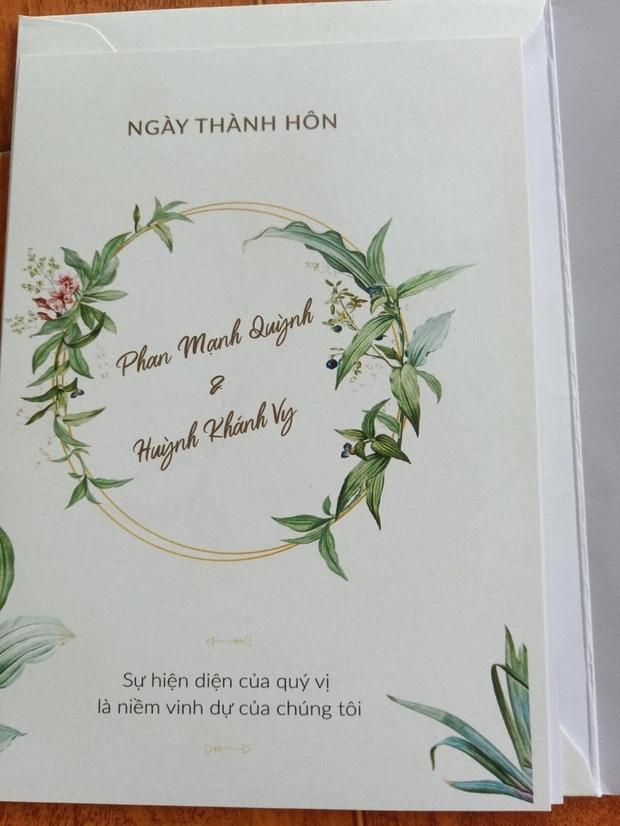 Lộ thiệp mời và hình ảnh lễ đường trước thềm hôn lễ của Phan Mạnh Quỳnh tại Nghệ An, nhìn qua đã biết là hoành tráng không vừa - Ảnh 2.