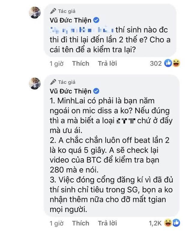 Netizen không phục, tràn vào tận nơi ăn vạ dưới bài đăng của Rhymastic về casting Rap Việt mùa 2 - Ảnh 7.