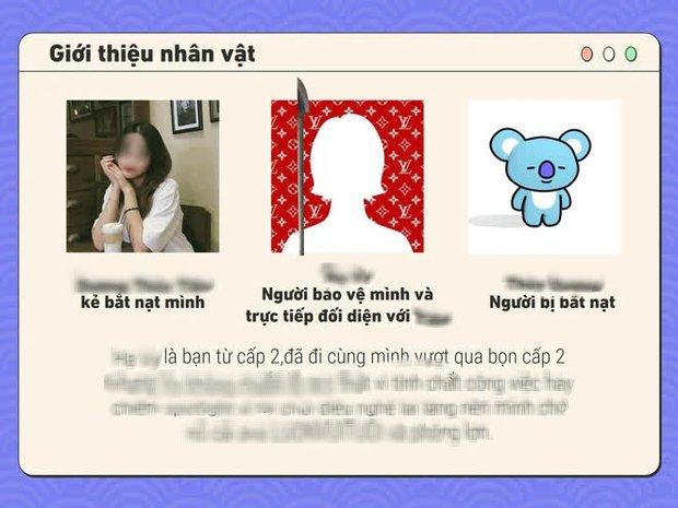Sốc: Cô gái Hà Nội tự thiết kế PowerPoint để tố cáo người bắt nạt mình thời đi học, vô số trò bẩn được tiết lộ khiến dân mạng rùng mình - Ảnh 5.