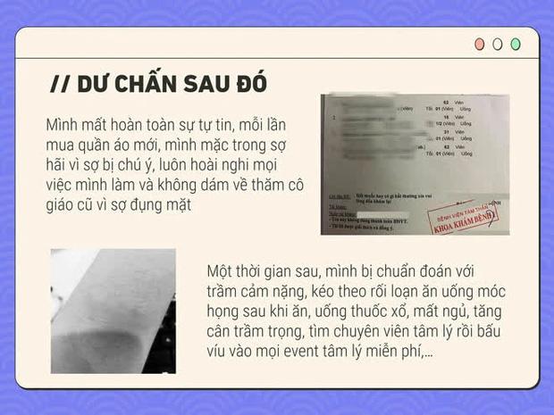 Sốc: Cô gái Hà Nội tự thiết kế PowerPoint để tố cáo người bắt nạt mình thời đi học, vô số trò bẩn được tiết lộ khiến dân mạng rùng mình - Ảnh 6.