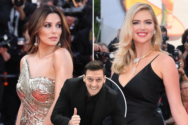 Chán bóng bánh, Mesut Oezil đá cặp cùng 2 nữ minh tinh Hollywood tính thâu tóm CLB danh tiếng Mexico - Ảnh 2.