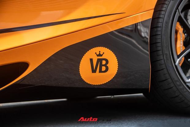 Cận cảnh McLaren 720S Spider của nữ ca sĩ Đoàn Di Băng sau khi lột xác, một chi tiết độc đáo khẳng định tính cá nhân hóa - Ảnh 3.