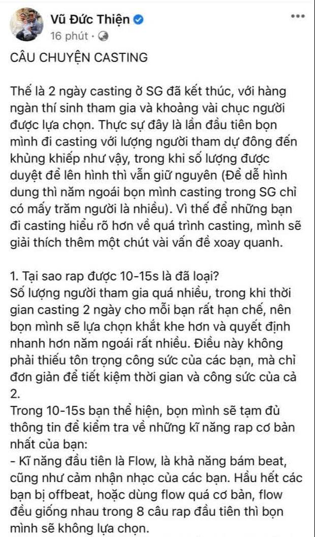 Netizen không phục, tràn vào tận nơi ăn vạ dưới bài đăng của Rhymastic về casting Rap Việt mùa 2 - Ảnh 4.