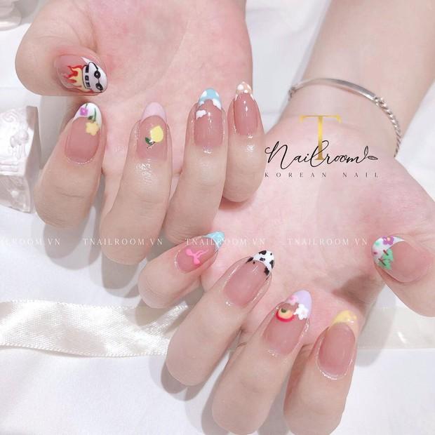 Mẫu nail của Rosé đang là hot trend ở các tiệm, chị em tậu một bộ là chuẩn trend mùa hè - Ảnh 3.