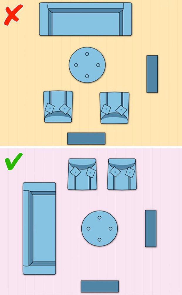 7 cách sắp xếp nội thất phòng khách siêu đỉnh, nhìn vào là biết gia chủ có gu thẩm mỹ - Ảnh 1.