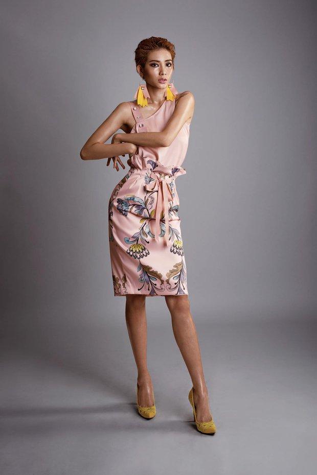 Từng bị BB Trần chê lép, Kim Nhã (Vietnams Next Top Model) giờ gây choáng với vòng 1 màu mỡ hơn hẳn! - Ảnh 3.