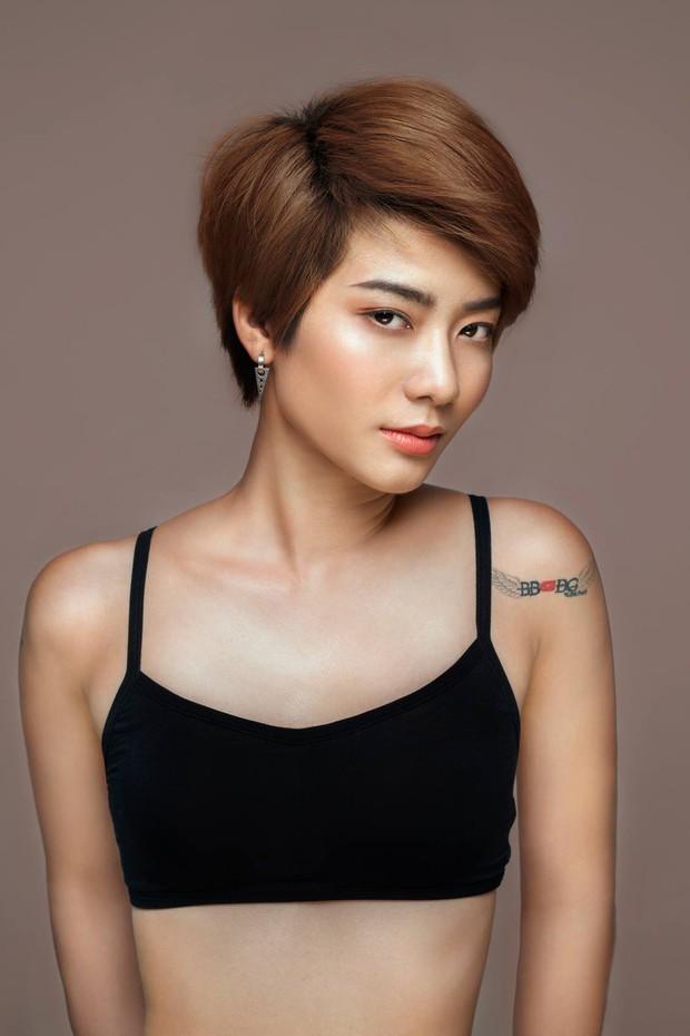 Từng bị BB Trần chê lép, Kim Nhã (Vietnams Next Top Model) giờ gây choáng với vòng 1 màu mỡ hơn hẳn! - Ảnh 1.
