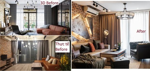 Giao cho stylist xử lý từ A-Z, 8X nhận căn hộ Industrial chất hơn cả mong đợi: Ngắm bức tranh sắt đã thấy cực kỳ công - Ảnh 9.