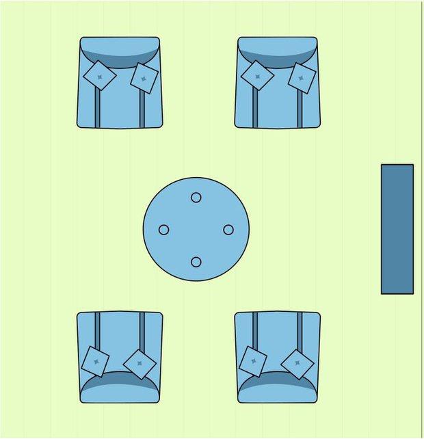 7 cách sắp xếp nội thất phòng khách siêu đỉnh, nhìn vào là biết gia chủ có gu thẩm mỹ - Ảnh 2.