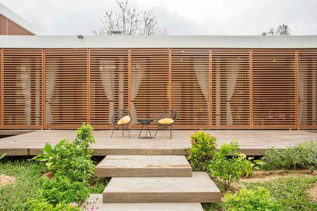 Nhà cấp 4 của gia đình tam đại đồng đường ở Quảng Nam: Bên ngoài giản dị mà bên trong sang trọng như resort 5 sao - Ảnh 17.