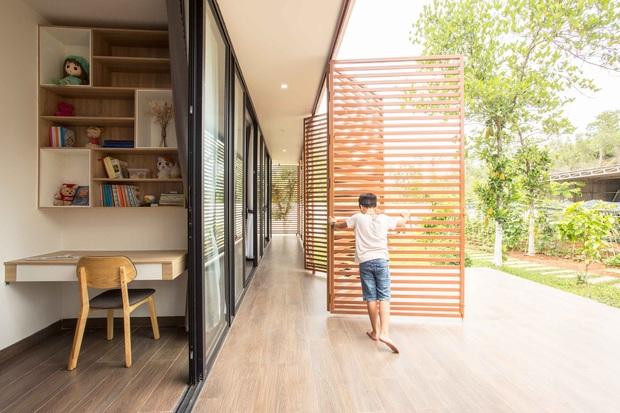 Nhà cấp 4 của gia đình tam đại đồng đường ở Quảng Nam: Bên ngoài giản dị mà bên trong sang trọng như resort 5 sao - Ảnh 13.