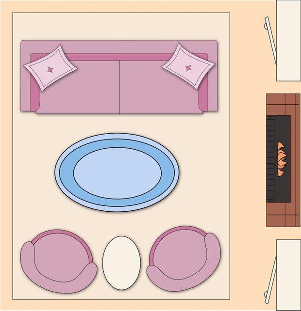 7 cách sắp xếp nội thất phòng khách siêu đỉnh, nhìn vào là biết gia chủ có gu thẩm mỹ - Ảnh 3.