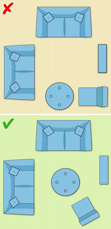7 cách sắp xếp nội thất phòng khách siêu đỉnh, nhìn vào là biết gia chủ có gu thẩm mỹ - Ảnh 6.