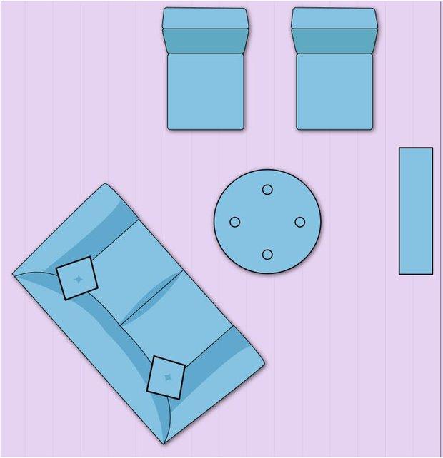 7 cách sắp xếp nội thất phòng khách siêu đỉnh, nhìn vào là biết gia chủ có gu thẩm mỹ - Ảnh 7.