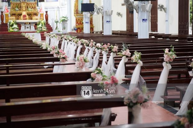 Hé lộ toàn cảnh lễ đường và ảnh cưới của Phan Mạnh Quỳnh tại Nghệ An: Sân khấu đẹp như cổ tích, quy mô nhìn sơ đã thấy khủng! - Ảnh 9.