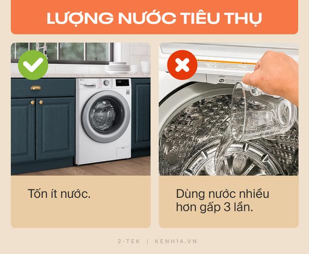 Máy giặt cửa trước và cửa trên khác nhau như thế nào? Hãy tìm hiểu rõ trước khi xuống tiền chốt đơn - Ảnh 3.
