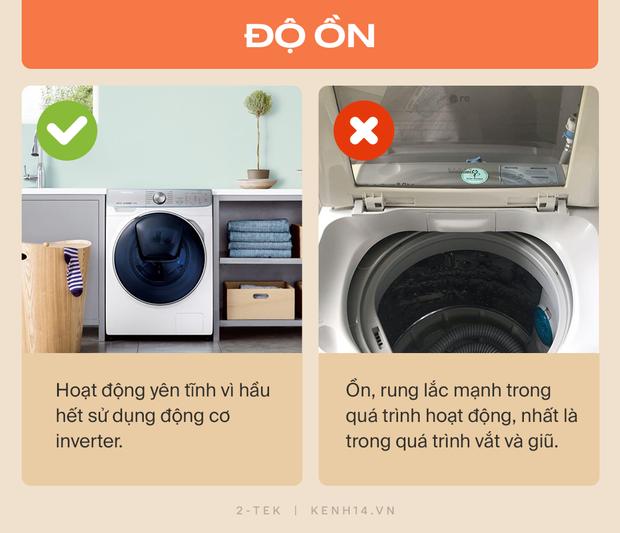 Máy giặt cửa trước và cửa trên khác nhau như thế nào? Hãy tìm hiểu rõ trước khi xuống tiền chốt đơn - Ảnh 6.