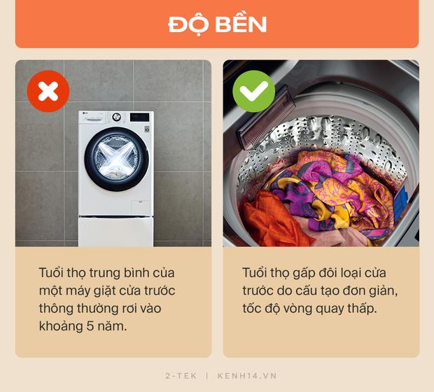 Máy giặt cửa trước và cửa trên khác nhau như thế nào? Hãy tìm hiểu rõ trước khi xuống tiền chốt đơn - Ảnh 9.