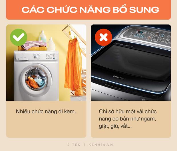 Máy giặt cửa trước và cửa trên khác nhau như thế nào? Hãy tìm hiểu rõ trước khi xuống tiền chốt đơn - Ảnh 10.