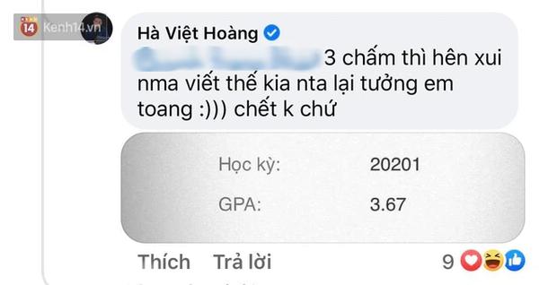Bị lấy ví dụ cho chuyện rớt môn ở Bách khoa, Hà Việt Hoàng (Siêu Trí Tuệ) phản dame cực gắt, show luôn GPA 3.67/4.0 - Ảnh 3.