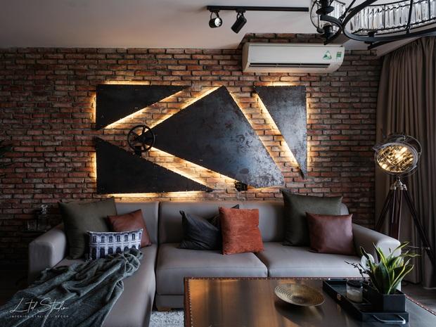 Giao cho stylist xử lý từ A-Z, 8X nhận căn hộ Industrial chất hơn cả mong đợi: Ngắm bức tranh sắt đã thấy cực kỳ công - Ảnh 6.
