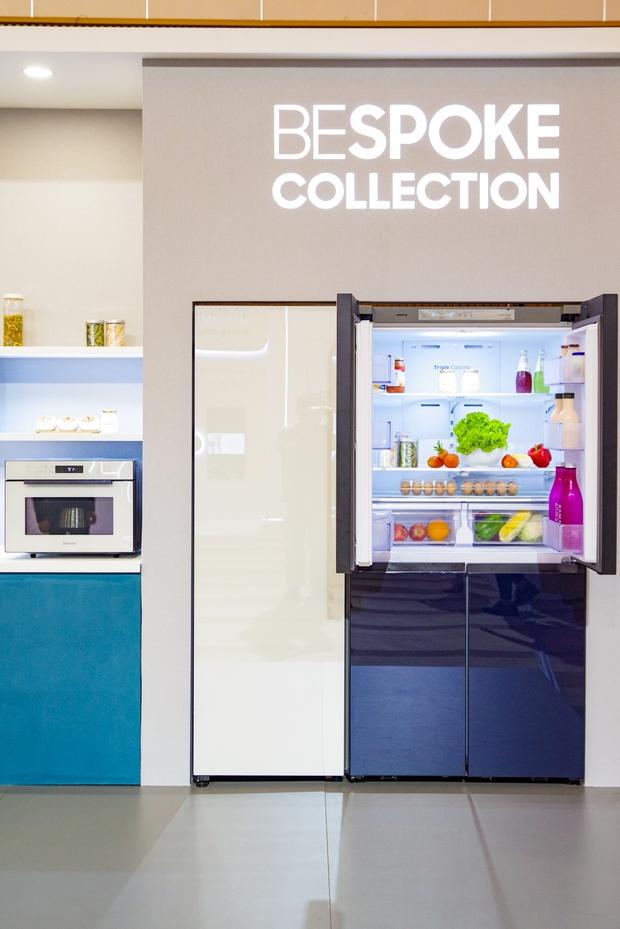 Tủ lạnh giờ nhiều màu sắc, lại còn khả năng lắp ghép như thế này đây - Ảnh 6.