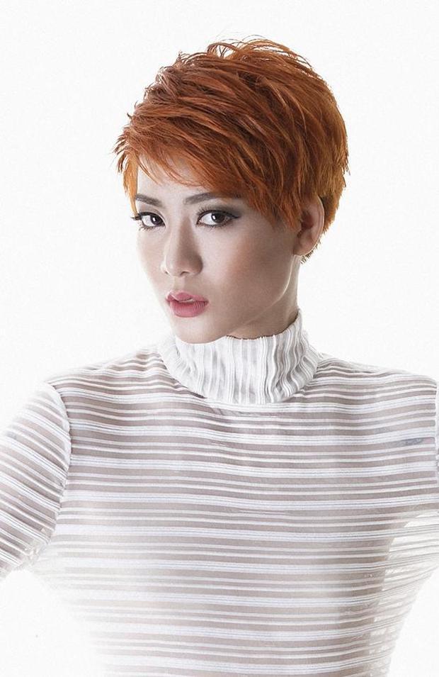 Từng bị BB Trần chê lép, Kim Nhã (Vietnams Next Top Model) giờ gây choáng với vòng 1 màu mỡ hơn hẳn! - Ảnh 2.