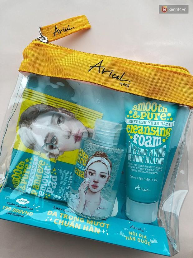 Skincare hệ sành điệu là phải sắm set 3 món làm sạch da trong mướt chuẩn Hàn này cho chuyến du lịch sắp tới - Ảnh 1.