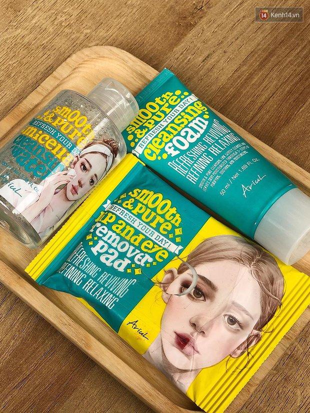 Skincare hệ sành điệu là phải sắm set 3 món làm sạch da trong mướt chuẩn Hàn này cho chuyến du lịch sắp tới - Ảnh 2.