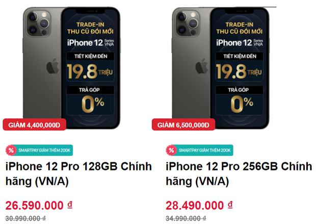 Giá iPhone 12 Pro Max giảm mạnh, về mức thấp chưa từng thấy - Ảnh 1.