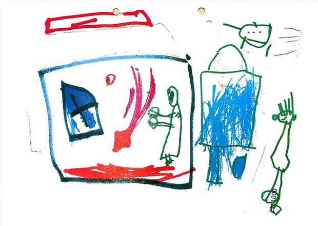 Vụ bé gái 5 tuổi bị bố và mẹ kế bạo hành đến chết, cơ thể kiệt quệ như người già: Tiết lộ bức ảnh bé vẽ trước khi qua đời khiến dư luận càng sục sôi - Ảnh 5.