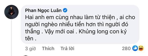 Phan Ngọc Luân chỉ cách phân bua cuộc chiến Nathan Lee - Ngọc Trinh: Hai anh em cùng làm từ thiện, ai cho nhiều tiền hơn người đó thắng - Ảnh 6.