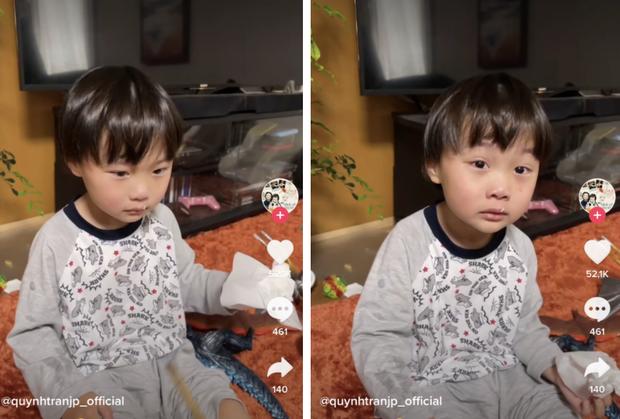 Quỳnh Trần JP vấp phải ý kiến trái chiều khi xưng tao gọi bé Sa là mày trong clip phạt con tung lên mạng - Ảnh 1.
