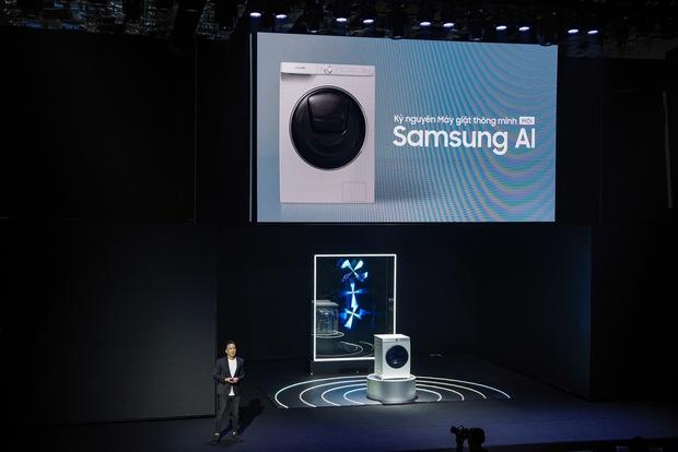 Samsung áp dụng AI vào máy giặt như thế nào? - Ảnh 1.