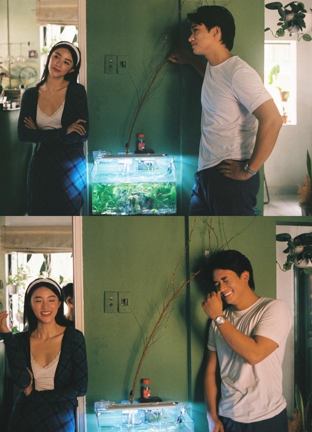 Bị đồn phim giả tình thật, mỹ nhân phim Victor Vũ đáp trả bằng bộ ảnh cực tình bên hot boy gốc Việt - Ảnh 1.