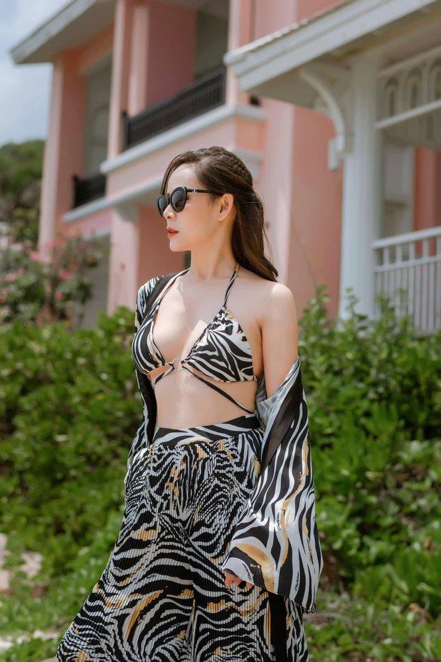 Diễn viên Diễm Hương khoe ảnh diện bikini gợi cảm, NS Công Lý để lại bình luận khiến dân tình hoang mang - Ảnh 2.