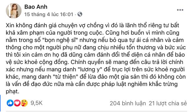 Toàn cảnh drama của dàn sao Việt và vợ Dũng lò vôi: Từ phát ngôn đám nghệ sĩ đến gọi tên NS Hoài Linh, khẩu chiến với Trang Khàn, Trịnh Kim Chi - Ảnh 5.