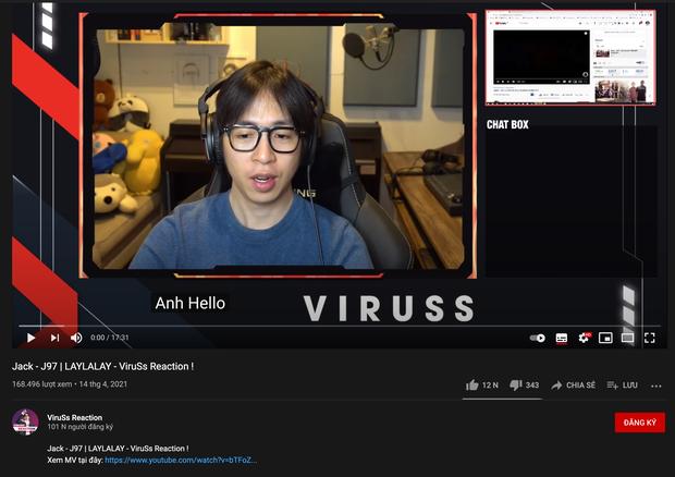 ViruSs tung reaction về MV mới của Jack, cộng đồng mạng cười bò vì phụ đề tiếng Việt quá hài hước! - Ảnh 2.