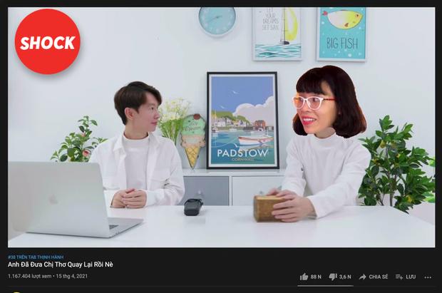 Thơ Nguyễn chính thức lộ diện trên kênh YouTube 9 triệu subscriber của mình, có rườm rà quá không ekip ơi? - Ảnh 3.