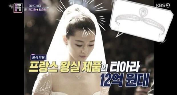 Công bố đám cưới đắt đỏ nhất Kbiz: Váy 1,6 tỷ, nhẫn 10 tỷ chưa sốc bằng giá món phụ kiện từ Hoàng gia Pháp, cô dâu là ai? - Ảnh 6.