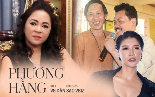Toàn cảnh drama của dàn sao Việt và vợ Dũng lò vôi: Từ phát ngôn đám nghệ sĩ đến gọi tên NS Hoài Linh, khẩu chiến với Trang Khàn, Trịnh Kim Chi - Ảnh 2.