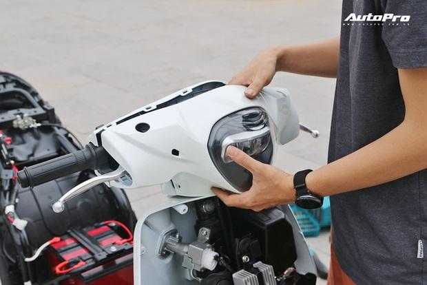 Lột trần VinFast Feliz trong 10 phút, kỹ sư điện đánh giá: Kết cấu đơn giản, dễ sửa, dễ độ nhưng vẫn còn điểm yếu - Ảnh 27.