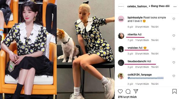 Rosé (BLACKPINK) gây sốt bởi váy hoa cúc 40 triệu đồng, nhưng netizen lại so kè nàng với cao thủ hack tuổi này - Ảnh 7.