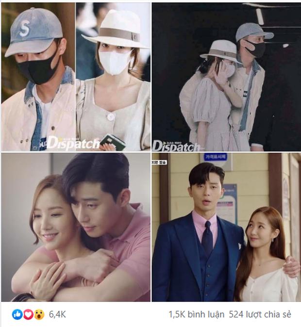 Rầm rộ tin Dispatch tung ảnh Park Min Young - Park Seo Joon hẹn hò hơn 2 năm, sự thật khiến dân tình phẫn nộ - Ảnh 3.