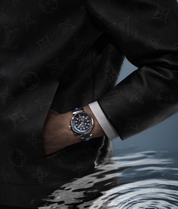 Lee Min Ho bất ngờ xuất hiện trong chiến dịch quảng cáo đồng hồ mới của Louis Vuitton, khoe visual hack tuổi trứ danh - Ảnh 9.