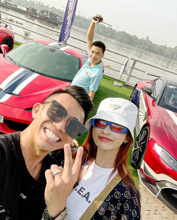 Vừa chi 7,5 tỷ làm thiết kế nội thất, vợ chồng Đoàn Di Băng xách siêu xe 24 tỷ đi chơi với nhà Minh Nhựa và hội đại gia - Ảnh 5.